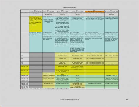 excel itinerary unique of blank travel itinerary template 5 excel teknoswitch 2018 blank template