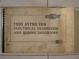 Buy 1989 Astro Van Electrical Diagnosis  U0026 Wiring Diagrams Original Motorcycle In Utica  Michigan