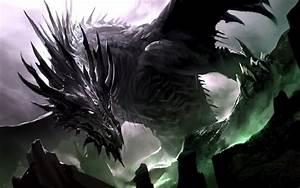 Black Dragon Wallpaper   WeNeedFun