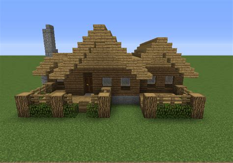 Cabin Minecraft Small Wooden Cabin 7 Grabcraft Your Number One Source