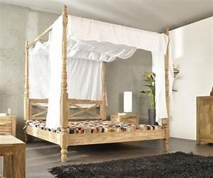 Patchworkdecke Mit Eigenen Fotos : himmelbett aus holz die spektakul rsten ideen ~ Buech-reservation.com Haus und Dekorationen