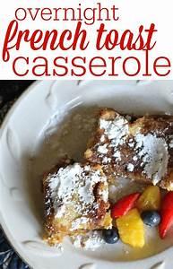 Make-Ahead French Toast Casserole | Stove, Like you and ...