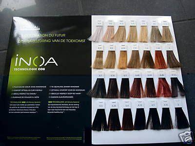 oreal inoa color chart search pictures  inoa
