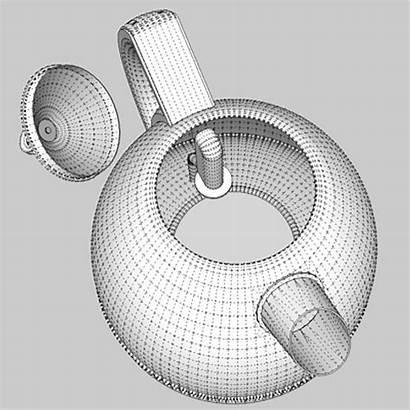 Toaster Kettle 3d Flatpyramid Models Pixelblock 3ds