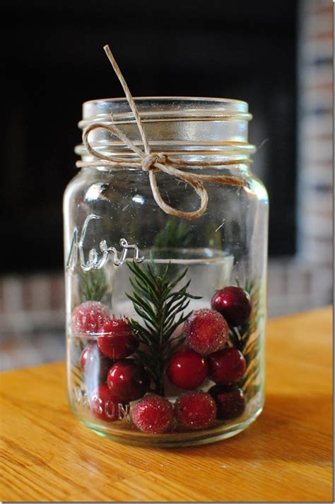 jar christmas candle holder 10 mason jar diy projects for christmas holiday world inside pictures