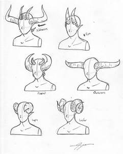 Pics For > Devil Horns Drawing