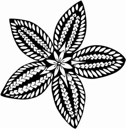 Samoan Polynesian Patterns Drawing Tribal Clipart Transparent