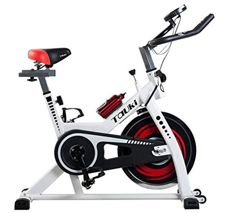 Tauki? Indoor Upright Exercise Bike W/ LCD Monitor Cycling ...
