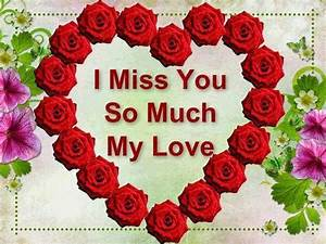 I Miss You So Much My Love Wallpaper