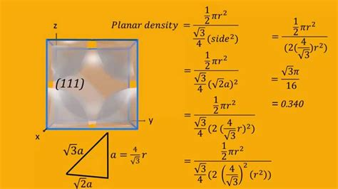 linear  planar densities  body centered cubic bcc unit cells youtube