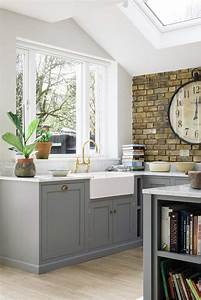 40, Romantic, And, Welcoming, Grey, Kitchens, For, Your, Home