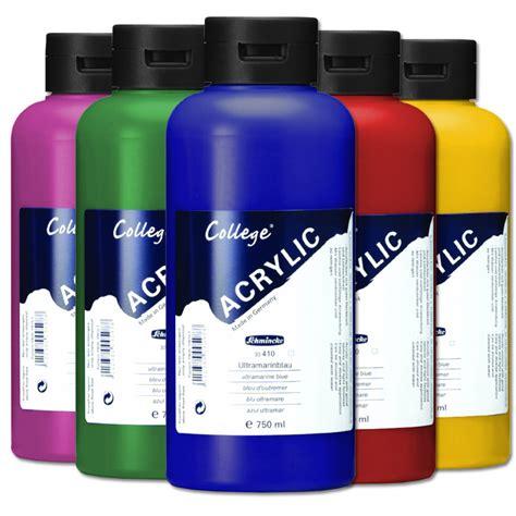 acrylfarbe basteln malen einebinsenweisheit