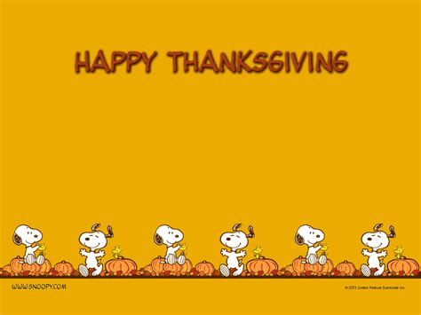 thanksgiving peanuts wallpaper 452773 fanpop