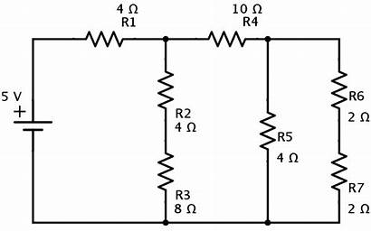Resistors Parallel Circuit Combination Series Examples Voltage