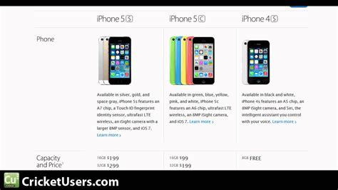 iphone 5c release date cricket wireless iphone 5s and iphone 5c release date