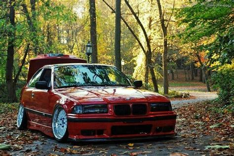 bmw 328i slammed bmw e36 3 series red slammed slammed pinterest bmw
