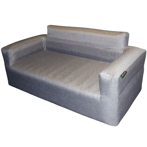 For those who like to be outdoors but don't venture far from home, inflatable sofas make great outdoor furniture for those times you throw an impromptu backyard bbq. Outdoor Revolution Premium Inflatable Sofa with Cover - Capital Outdoors
