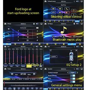 Left Hand Drive Ford Focus Mk1 Car Dvd Mp3 Player Stereo