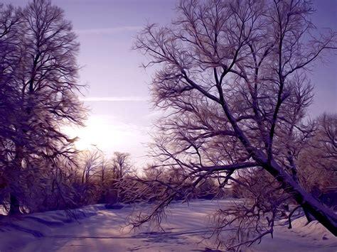 Winter Scenes Wallpaper For Iphone