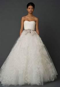 vera wang hannah size 4 wedding dress oncewedcom With vera wong wedding dress