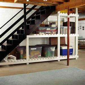 50 hallway under stairs storage ideas to try in your for Storage ideas for basement