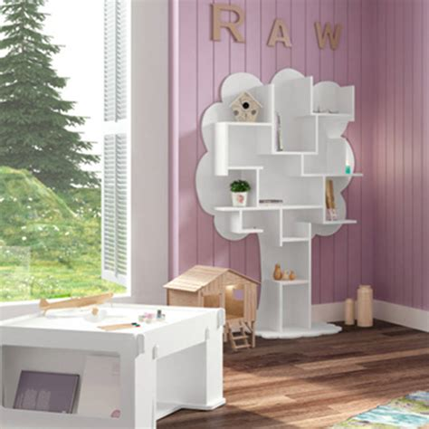Small Childrens Bookcase by Louane Small Tree Bookcase By Cuckooland