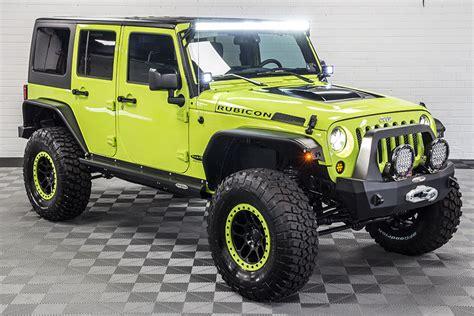 hyper green jeep 2016 jeep wrangler rubicon unlimited hyper green