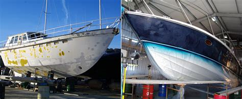 Boat Bottom Spray Paint by Boat Paint And Gelcoat Spraying Boatworks Guernsey