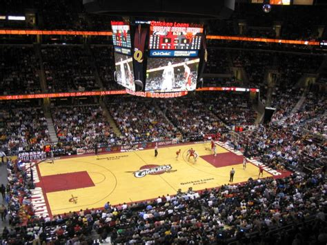 Cavs Lakers Floor Seats by Seemyseats Stadium Arena Seating Reviews Photos
