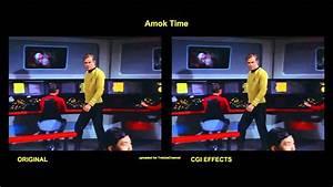 Star Trek - Amok Time - Visual Effects Comparison