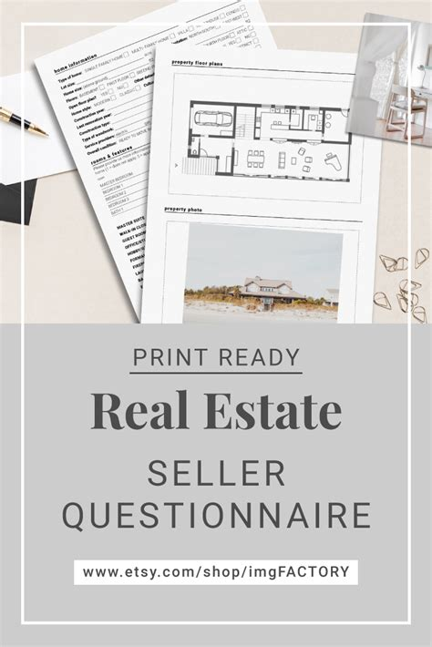 seller questionnaire  creative real estate marketing