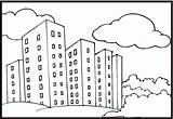 Neighborhood Coloring Pages Coloringpages101 sketch template