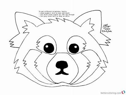 Draw Panda Coloring Pages Printable Adults