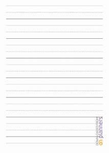 Download Printable 1 Inch Rule Handwriting Paper Pdf