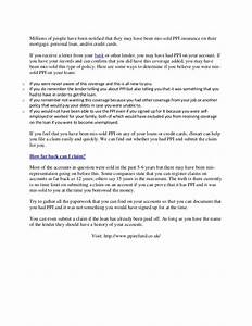 martin lewis ppi letter templatecivil engineer resume With claim ppi yourself template