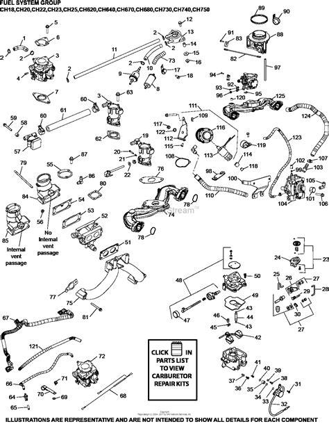 kohler ch  miller electric  hp  kw parts