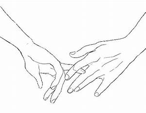 Simple and realy cute drawing. I love holding hands ...