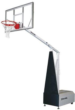 spalding fastbreak  portable basketball hoop
