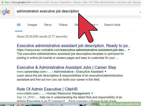 How To Write A For A New Position by How To Write A Justification Step By Step Guide