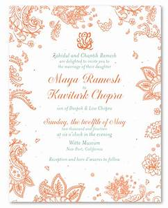 Affordable wedding invitations on seeded paper indian for Inexpensive indian wedding invitations