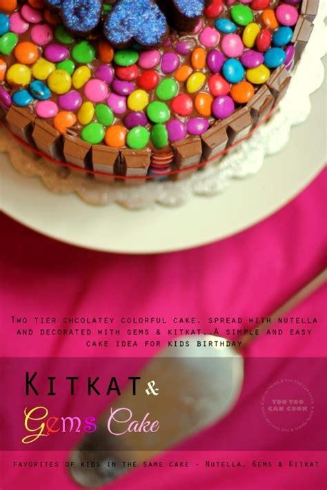 cake decoration ideas with gems kit cake kit and gems cake birthday cake for