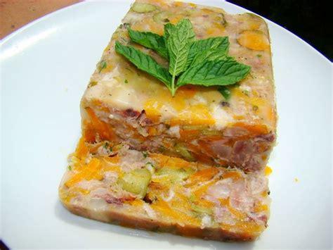 cuisiner les pieds de porc pied de porc carottes entrée froides la cachina