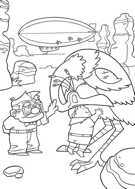 Ellie Kleurplaat by Up Coloring Pages To And Print For Free