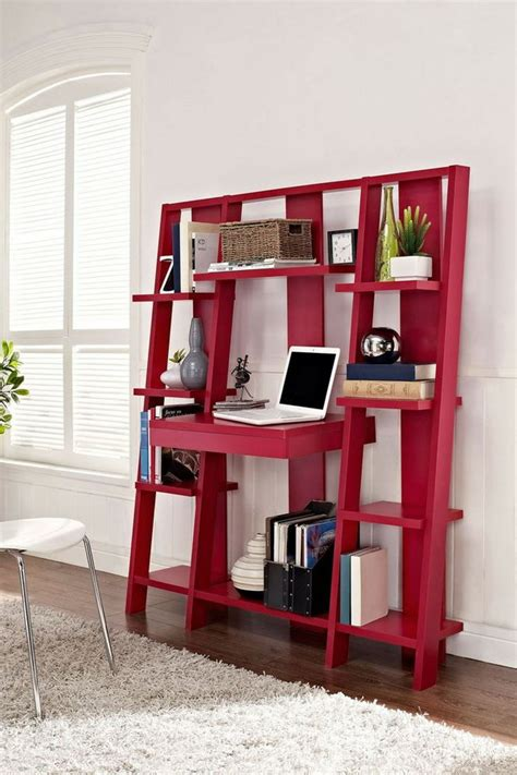 make a desk out of bookshelves creative diy ideas to repurpose your old ladders noted list