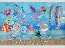 An Under the Sea Themed Display Early Years Inspiration