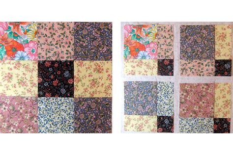 nine patch quilt disappearing nine patch quilt pattern