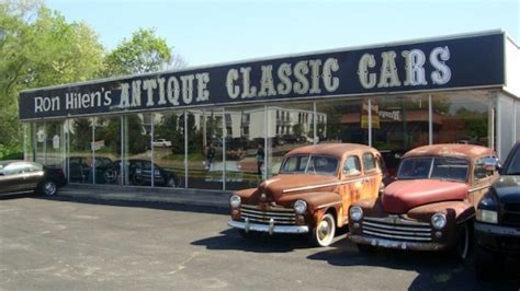 Classic Car Dealership Up For Auction