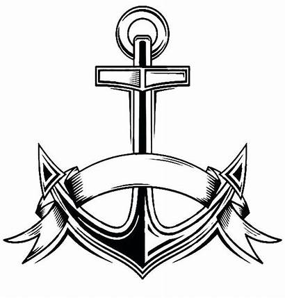 Anchor Navy Coloring Pages Drawing Printable Drawings