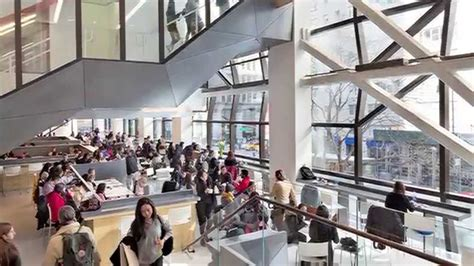 The New School Opens The Doors To Its University Center Youtube