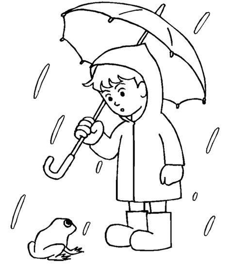 raindrop coloring pages az coloring pages